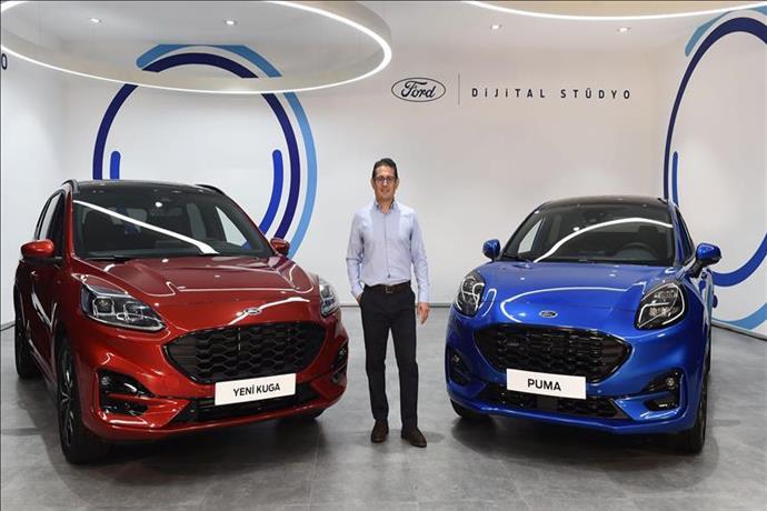 Ford'un Puma ve Kuga modelleri tanıtıldı