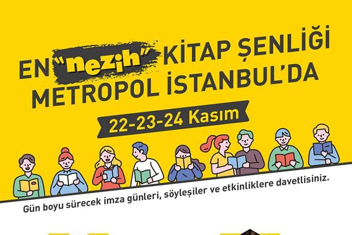Nezih Kitap Şenliği Metropol İstanbul'da!