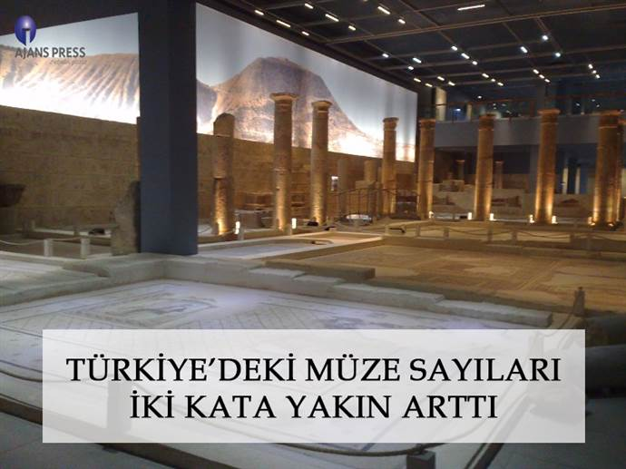 Türkiye'nin müze sayısı 14 yılda iki kat arttı