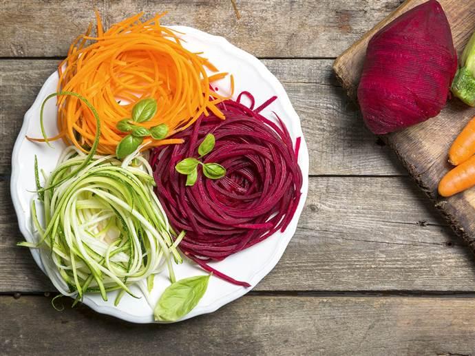 Hafif ve sağlıklı lezzetler: Spagetti sebzeler