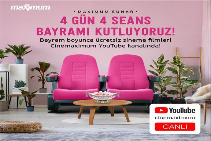 Cinemaximum Youtube kanalının bayram takvimi
