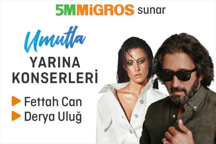 5M Migros Yaz Konserleri Beylikdüzü'nde Başlıyor