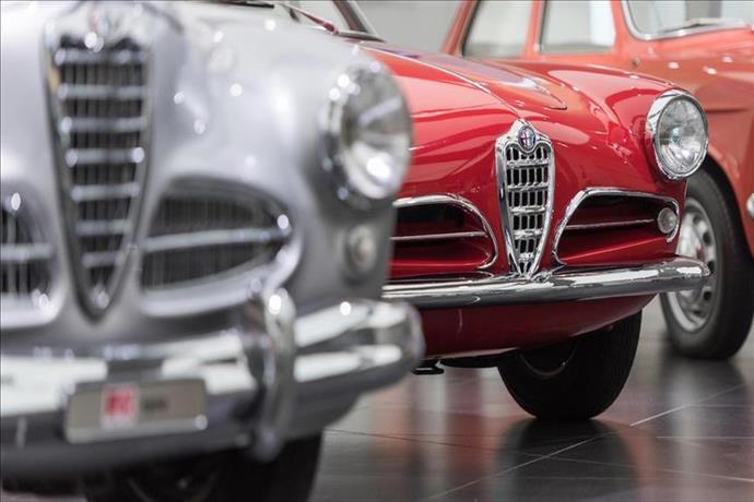 Alfa Romeo'nun ikonik modelleri Arese Müzesi'nde