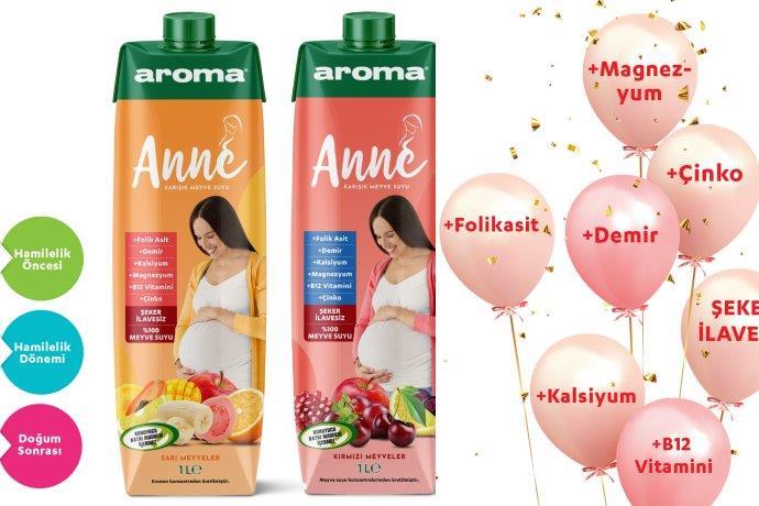 Aroma'dan annelere özel yeni ürün: Aroma Anne