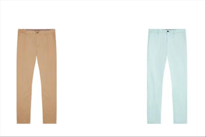 Tommy Hilfiger Chino Pantolonlarla Serin Bir Yaz Ruhu