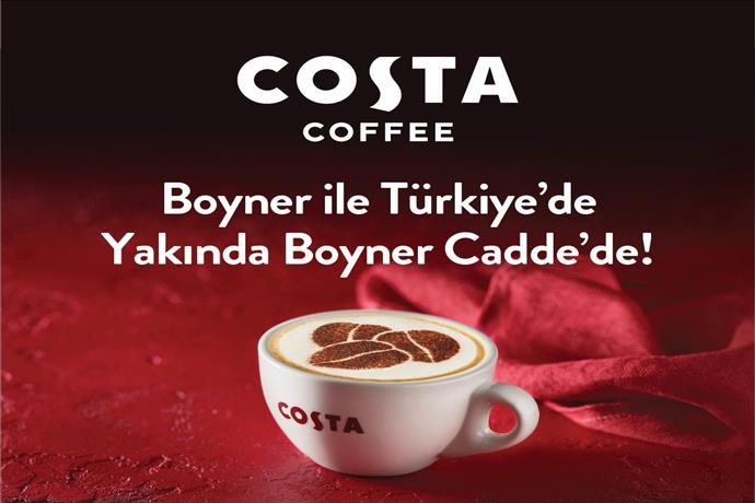 İngiltere'nin 1 Numaralı Kahve Zinciri Türkiye'de!