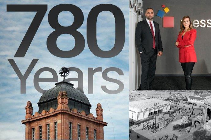 Messe Frankfurt 780 yaşında