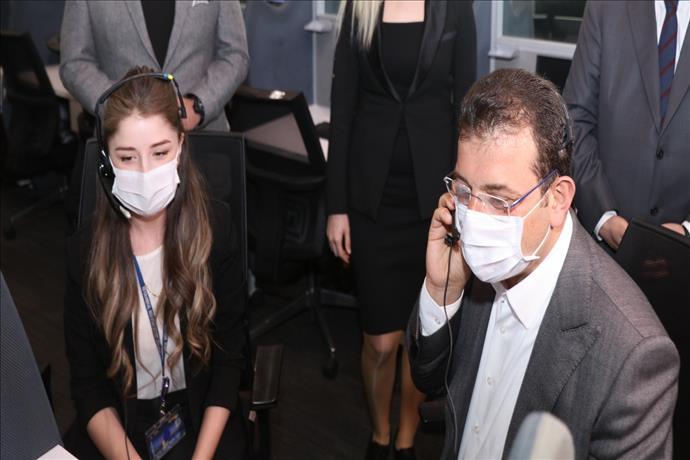 İBB'nin pandemi başarısı IPRA Altın Küre Ödülü ile taçlandı