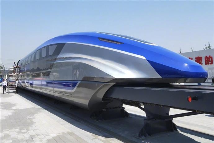 Çin'in hızlı treni ray üstünde uçacak