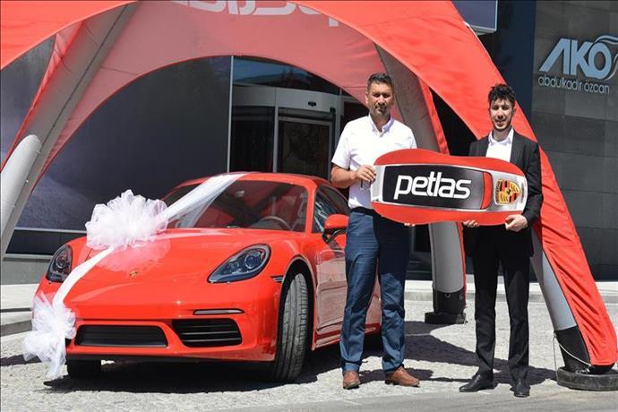 Petlas'ın Porsche Cayman talihlisi belli oldu