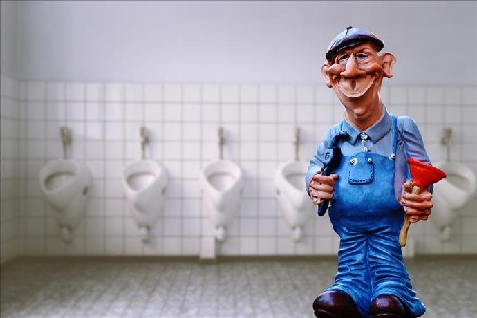 AVM'lerde tuvalet kullanımına dikkat uyarısı
