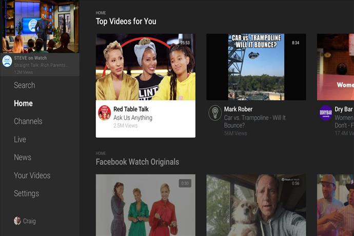 LG Smart TV'lere Facebook Watch Uygulaması Eklendi