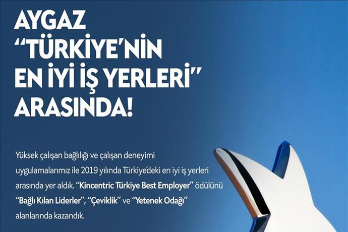 Aygaz Türkiye'nin en çevik şirketi