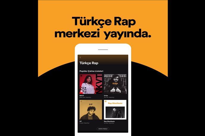Spotify Rap Üssü Yaratıyor