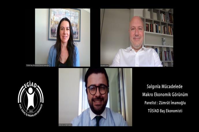 EGİAD: Türkiye Ekonomisi Daralma Riski İle Karşı Karşıya