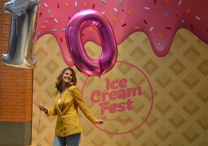 Forum İstanbul'da dondurma festivali yapılacak