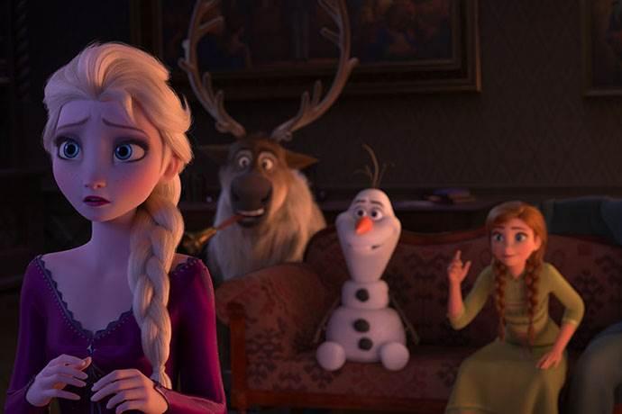 Karlar Ülkesi 2 filminden hafta sonu açılış rekoru