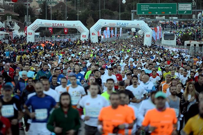 Vodafone 41. İstanbul Maratonu'na doğru