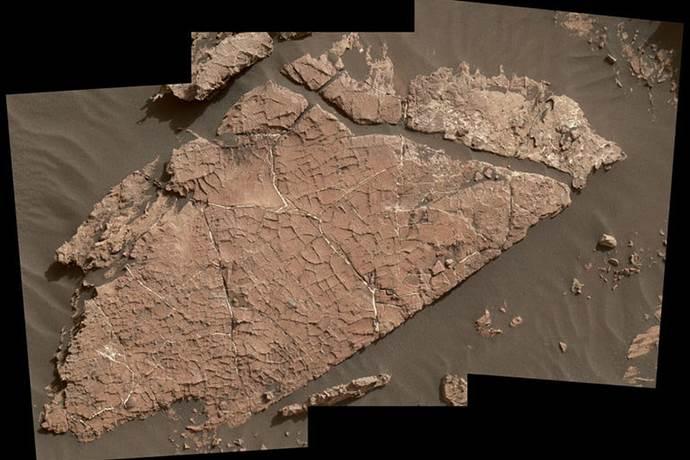 Mars'ta su olduğunu gösteren yeni görüntüler