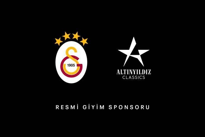 Galatasaray bu yıl  da Altınyıldız Classics giyecek
