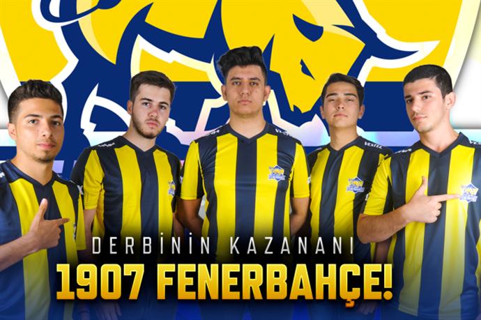 Fenerbahçe Wolfteam'da Galatasaray'a rövanşı vermedi
