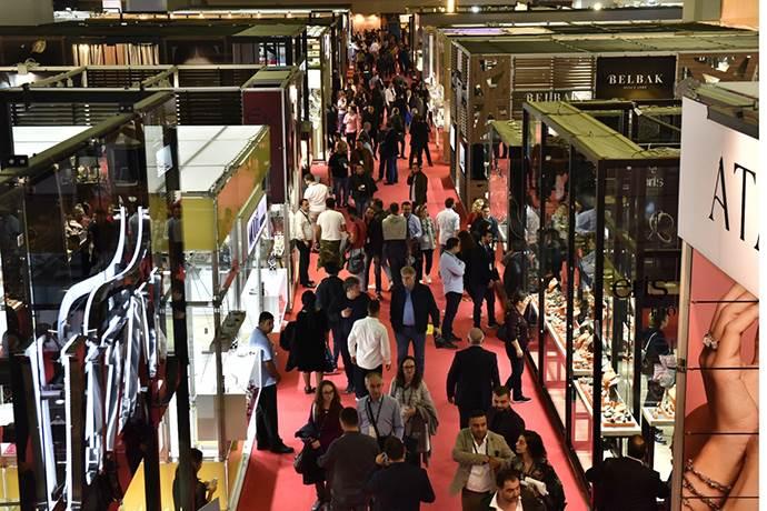 Mücevher sektörü İstanbul Fuar Merkezi'nde toplanıyor!