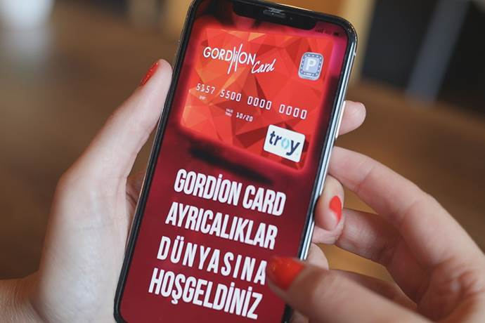 Gordion AVM'nin sanal kart projesine ödül