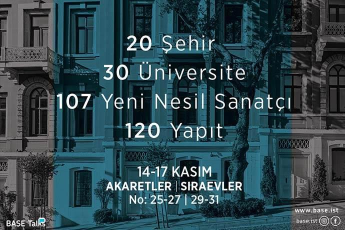 Türkiye'nin yeni nesil sanatçıları aynı çatı altında