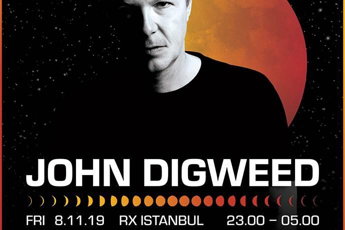 Elektronik müzik efsanesi John Digweed hafta sonu İstanbul'da!