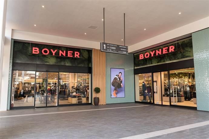 Boyner, 113'üncü mağazasını Hilltown Karşıyaka AVM'de açtı.