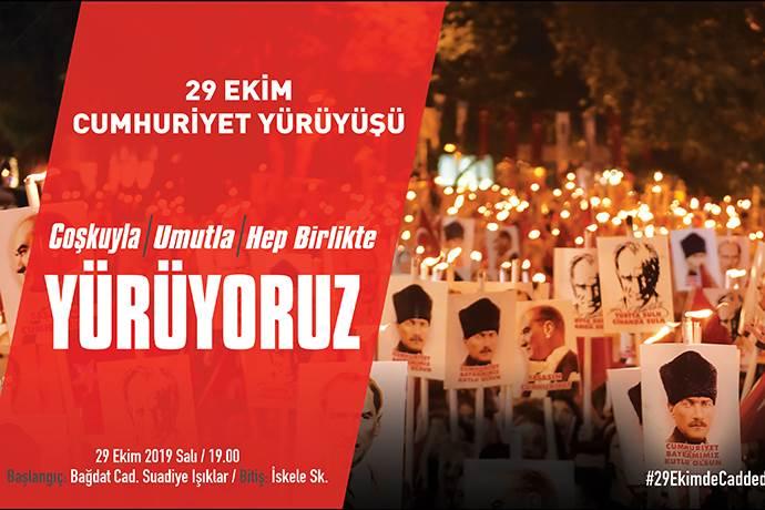 Kadıköy Belediyesi'nin 29 Ekim etkinlikleri