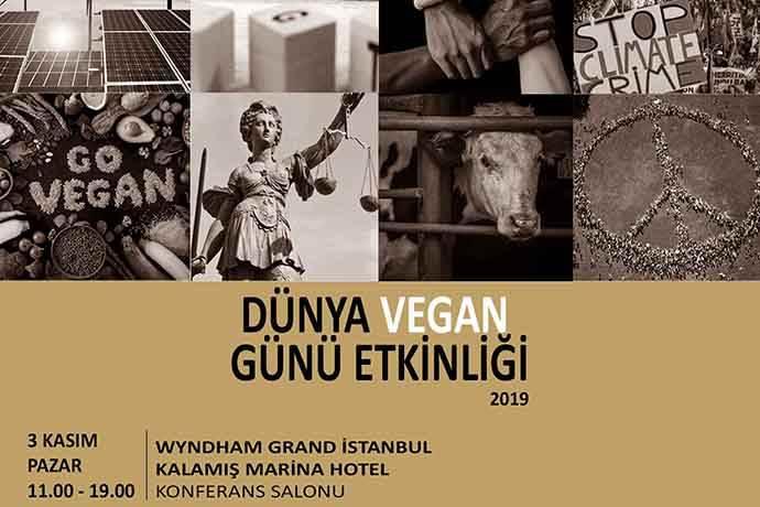 3 Kasım'da Dünya Vegan Günü Türkiye etkinliği
