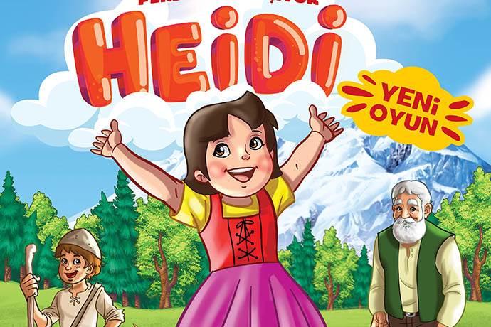 """""""Heidi"""" oyununu çocuklarla ücretsiz buluşuyor"""