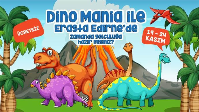 Erasta Edirne AVM'de Dino Mania ile zamanda yolculuk