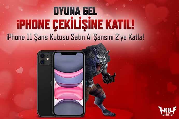 Wolfteam oyuncularına iPhone 11 kazanma şansı