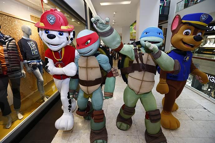 Gordion AVM'nin Paw Patrol ve Ninja Turtles hediyeleri devam ediyor