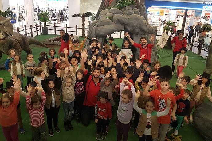 Erasta Edirne'de 'Dino Mania' etkinliği devam ediyor