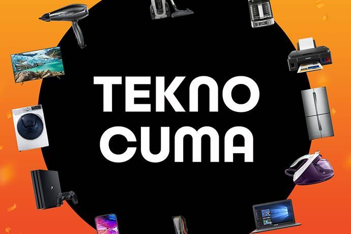 Teknosa'dan Tekno Cuma'ya özel indirim kampanyası