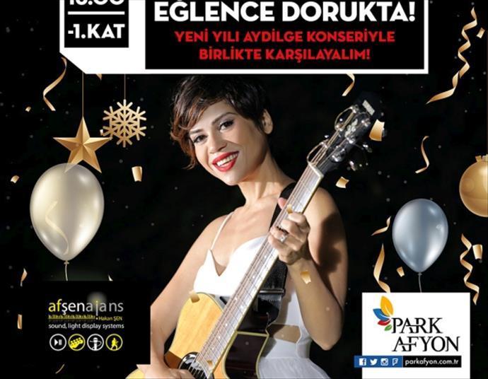 Park Afyon'da Aydilge ile yeni yıl konseri