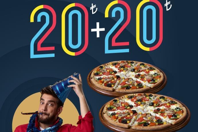 Domino's Pizza'dan 2020 kampanyası!