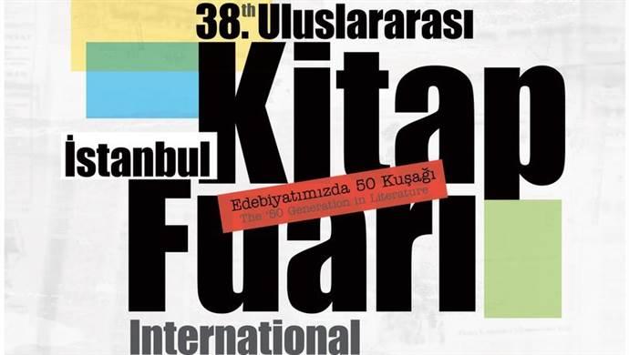 38'inci İstanbul Kitap Fuarı etkinlikleri açıklandı