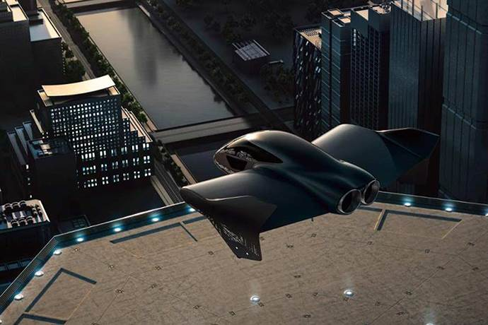 Porsche ve Boeing elektrikli uçan araba yapacak