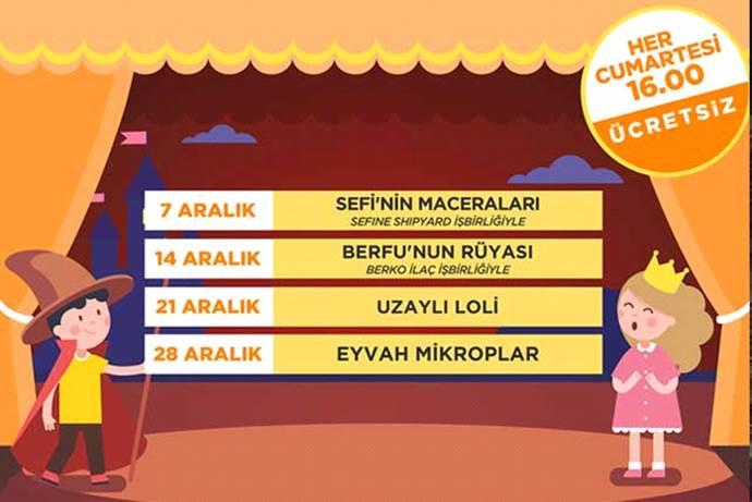 41 Burda AVM'de keyifli çocuk tiyatroları