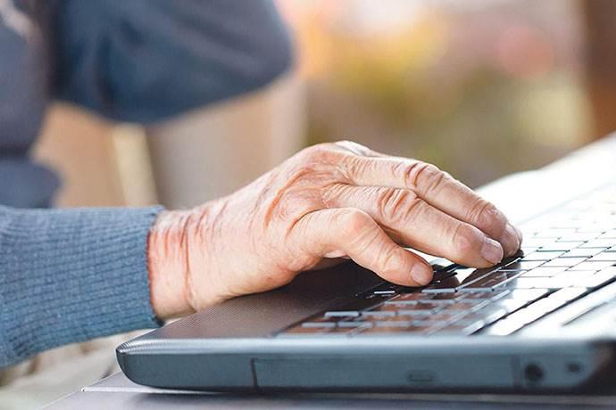 Türkiye'de yaşlı insanlardan sosyal medya rekoru