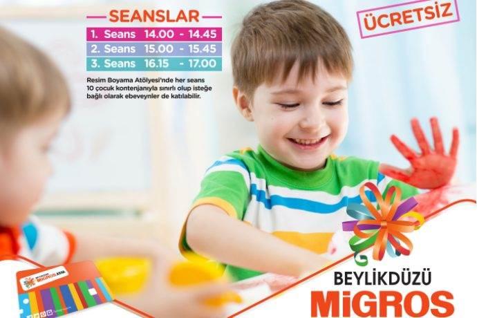Beylikdüzü Migros AVM Eylül ayı çocuk etkinlikleri çok renkli