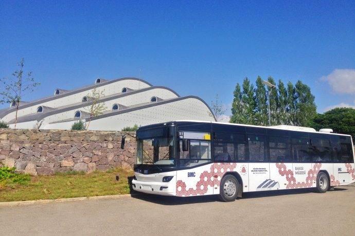 Baksı Müzesi'ne artık BMC'nin otobüs ile gidilecek