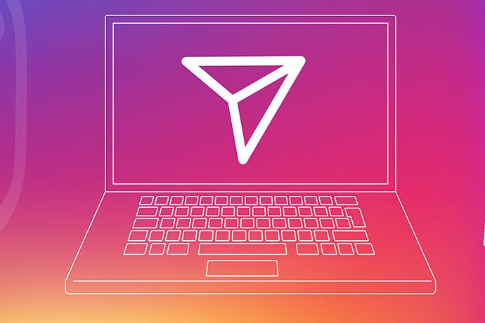 Instagram web sürümüne direkt mesaj özelliği
