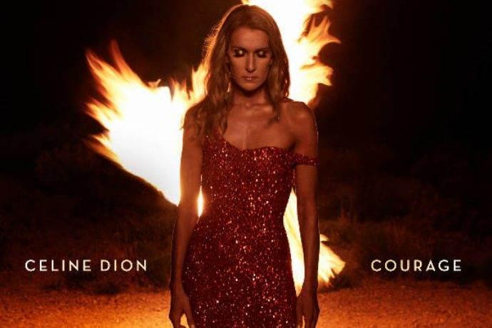Celine Dion'un Courage albümü yayınlandı