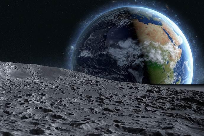 Çin Ay'da pamuk yetiştirdi