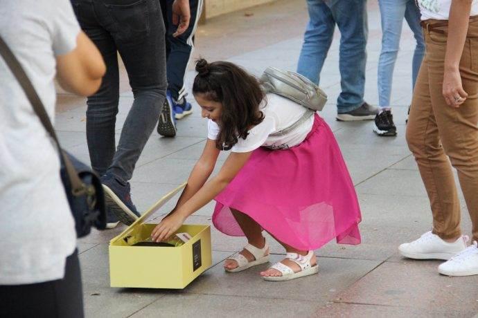 Emaar AVM, kutu kutu mutluluk dağıttı